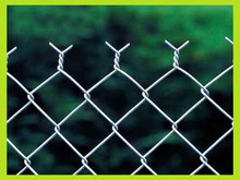 high quality and standard chain link wire mesh fence fabric