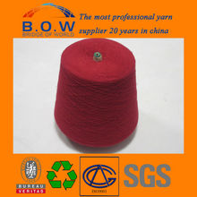 100% regeneration polyester yarn ring spun polyester yarn