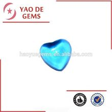 Heart Shape Cubic Zirconia Sapphire Jewelry, Glass Stone/Synthetic Cubic Zirconia Wholesale