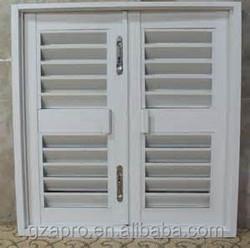china oem manufacturer louver window frame of window shutters, aluminum window frame