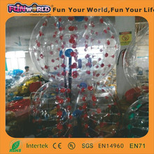 Human size 1.00MM TPU inflatable bubble football / bubble soccer / bumper ball for sale
