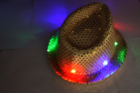 Top quality LED Fedora Hat Made In Shenzhen