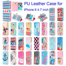 Magnetic Flip Pouch Wallet Leather Case Cover For iPhone 6