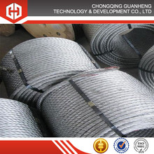 6*36SW 6*29Fi+ IWR Crane Grab Linear Contact Lay Steel Wire Rope