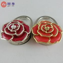 Flower Shaped Purse Hook / Bulk Purse Hook / Rose Premium Bag Hanger
