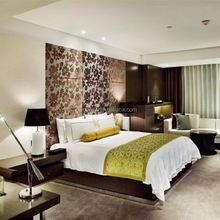 Modern Young Style Hotel Bedroom Furniture 2015, hand carved solid wood furniture