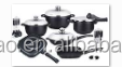 high quality 28pcs non-stick cookware/ die casting aluminum Kitchen Sets/ceramic cookware sets