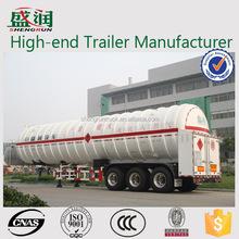 China Hot Sale Lpg Transport Tanker Truck Semi Trailer/gas Tank Trailer(propane)