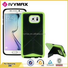 New coming colorful pu leather cover for samsung galaxy s6 transformer case