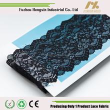 new arrival stretch lace trim nylon black lace trim chantilly lace trim for wedding dress underwear