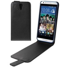 Vertical Flip Magnetic Snap Leather Custom Mobile Phone Case Cover for HTC Desire 620