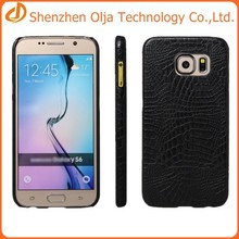 tpu+leather back cover case for samsung galaxy s6,for samsung galaxy s6 case,cell phone case for samsung galaxy s6