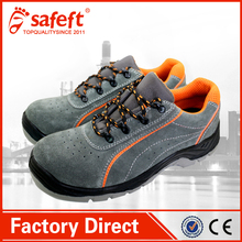 2015 new safety shoes industrial safety leather shoes