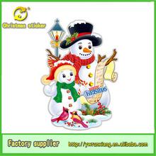 De papel de navidad decoración, muñeco de nieve de papel, decoración de la navidad