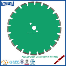 Cutting life & Operator Safety Laser Welded Diamond Saw Blade
