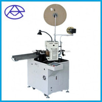 Full Automatic single end terminal crimping machine AM201.(strip cut wires full automaticlly)
