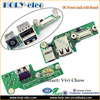OEM brand new DC-IN Connector Power Jack USB Port Board Replacement For Dell Inspiron 1525 1526 (PJ149)