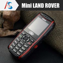 rugged Dual SIM mini cell phone land rover a8