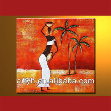 New Arrival Modern Indian Figure Oil Painting