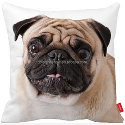 Fashion cheap decorative throw pillow seat cover wholesale linen sofa custom cushion cover