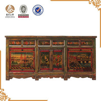 2015 Chinese Antique Beijing solid wood Furniture, sideboard cabinet
