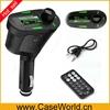 LCD USB2.0 port Car Mp3 Player FM Transmitter Modulator SD MMC Remote Control