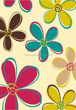 handmade acrylic or wool children flower rugs