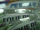 lâmina de metal para película aderente