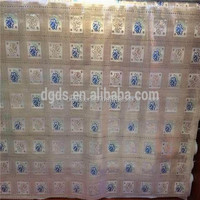 Wholesale in rolling vinyl lace table runner