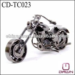 small metal motorcycle gift CD-TC023