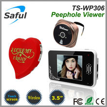best 3.5 inch Saful TS-WP306 2.4GHz Wireless digital door viewer, lcd digital door viewer