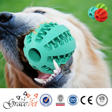 [Grace Pet] Natural Rubber Teething Gums Chewing Ball Dog Toy