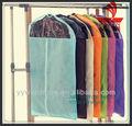 personalizado de plástico transparente com zíper saco de vestuário com bolsos