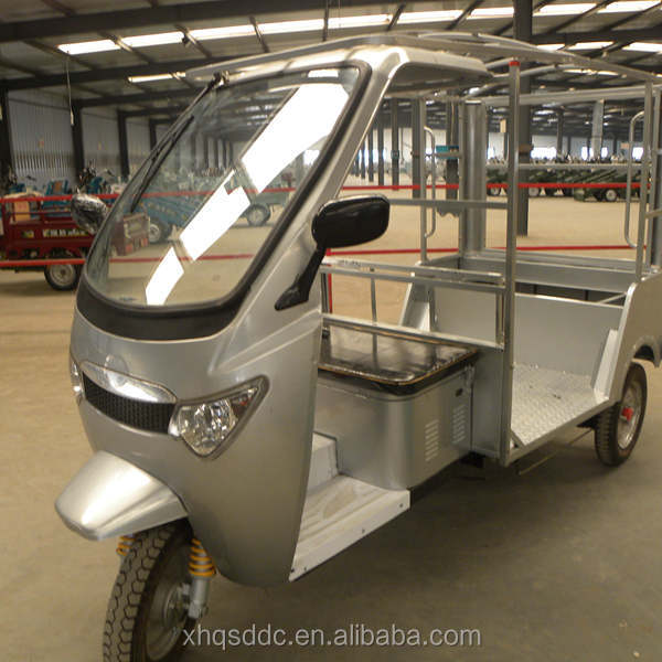 china three wheel battery powered electric rickshaw for sale