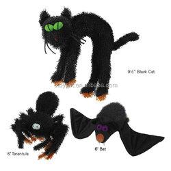 Halloween Pet Toys Plush Toys Dog Toys / Cat Spider Bat