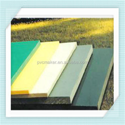 Green 2015 hot sale high quality cheap pvc panel / expanded pvc sheets 1220*2440mm 15mm thick