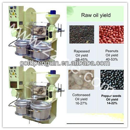 2013 nouveau Design haut rendement d'huile d'olive presse à huile / huile machines
