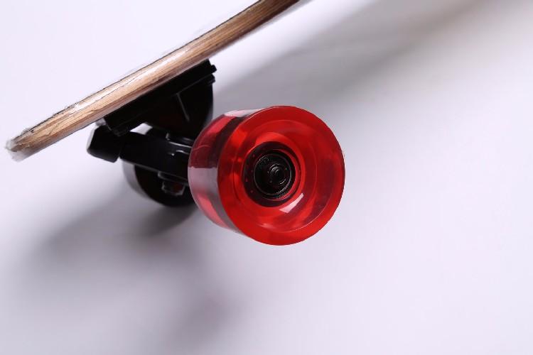 HSJ63 4 바퀴 긴 보드 프리 스타일 긴 판 슈퍼 스케이트 보드