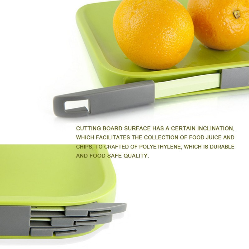 Cutting Board with a storage for Knife and Forks