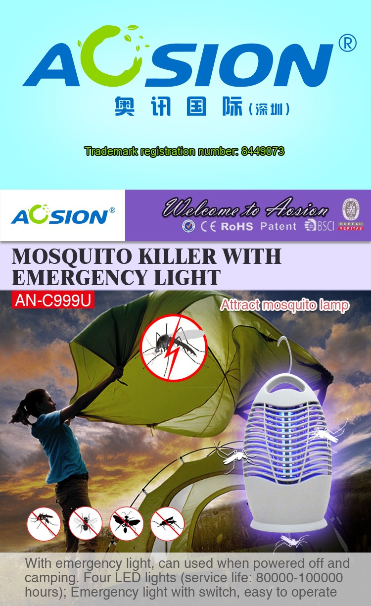 Aosion Brand Bsci Quality Assurance Mosquito Killer Bug Zapper With Bugzapper1 Circuit Schematic Diagram An C999u New 01