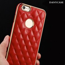 Cheap wholesale cheap leather mobile phone case, pu leather case for iphone6