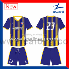 Comfortable soccer wear, custom made football jerseys