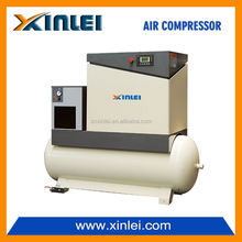 screw air compressor with tank 15hp XLAMTD15A-A4 direct driven 11KW 8 BAR kompressor for air three phase