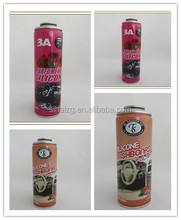Guangzhou manufacuturer supply 250ml hair spray empty printed aerosol tinplate can for packaging
