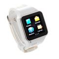 Oem de fábrica al por mayor ultra delgada de acero inoxidable smartwatch 2, sms llamando reloj teléfono celular, reloj de pulser