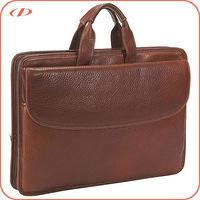 Men's natural leather briefcase sale
