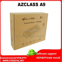 Andriod decoder AZCLASS A9 twin tuner SKS&IKS na**ra 3 for South America tocomfree s929 nusky n1gs