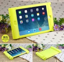 Kids Shock Proof Silicone Case Handle Cover Stand for iPad Mini 1/2/3