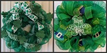 easter wreaths made with ribbon wholesale for walmart