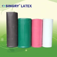Colorful Latex Foam Rubber Sheet For Shoes